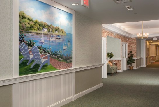 Safe Harbor Mural and Hallway small