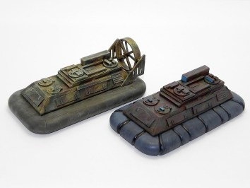 Hover vehicles / hover craft