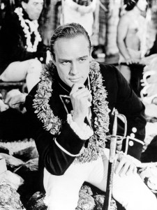 Fletcher Christian ala Marlon Brando