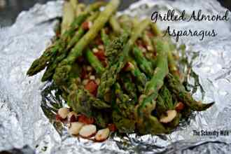 Grilled Almond Asparagus | theschmidtywife.com
