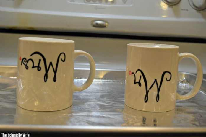 DIY personalized mugs | The Schmidty Wife