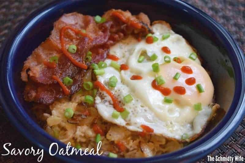 Savory Oatmeal | The Schmidty Wife