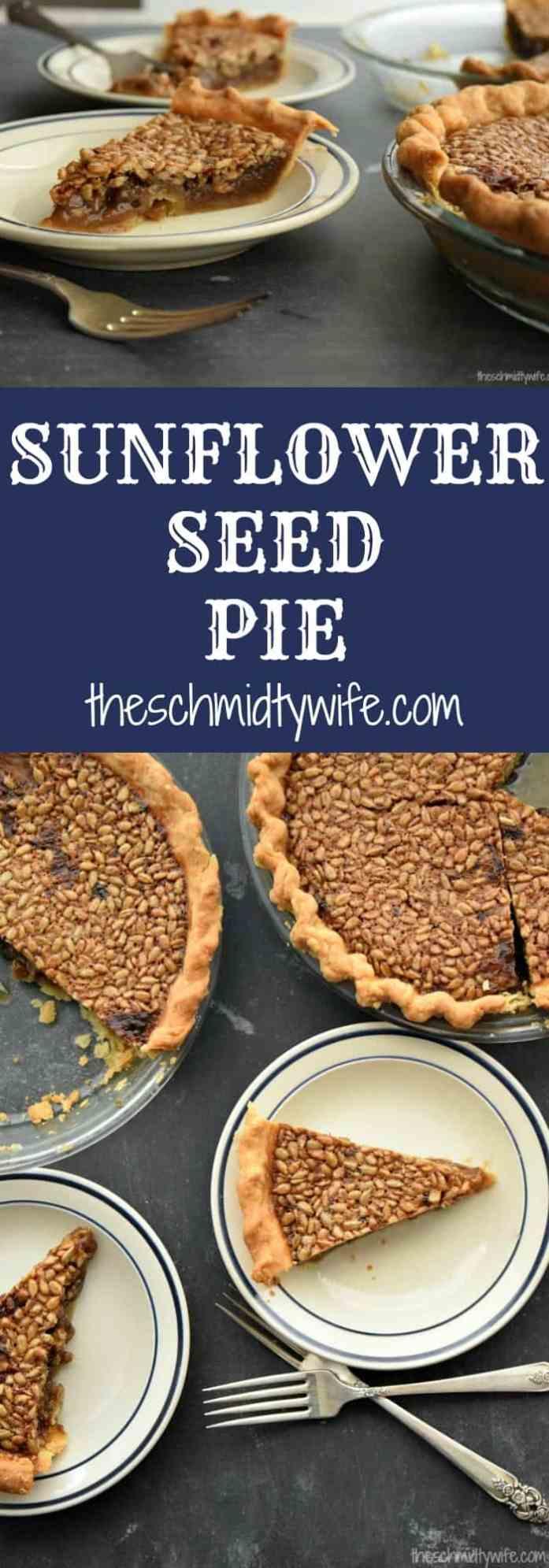 Sunflower Seed Pie