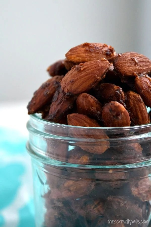 Sweet & Spicy Candied Almonds