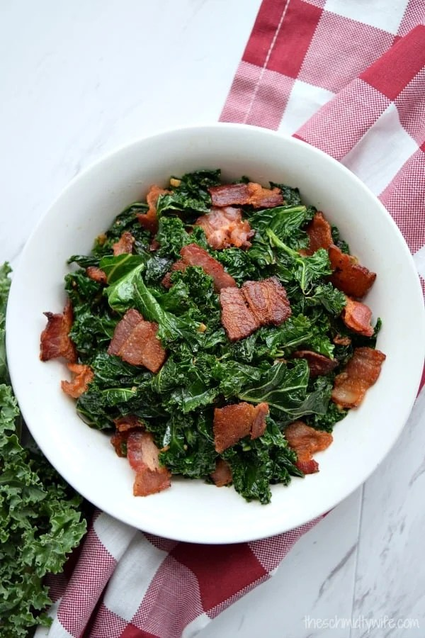Sauteed Kale with Bacon