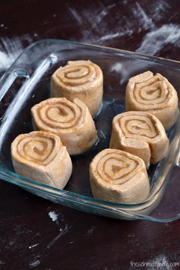 healthier date caramel rolls