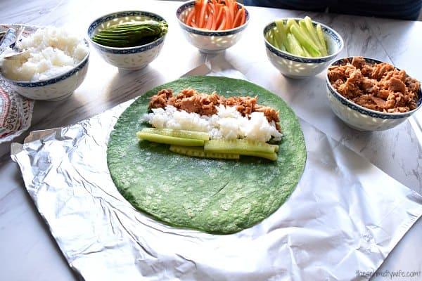 Spicy Tuna 'Sushi' Wrap