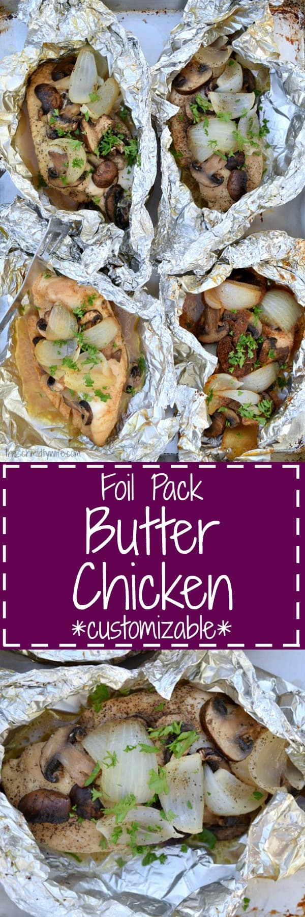 Foil Pack Butter Chicken