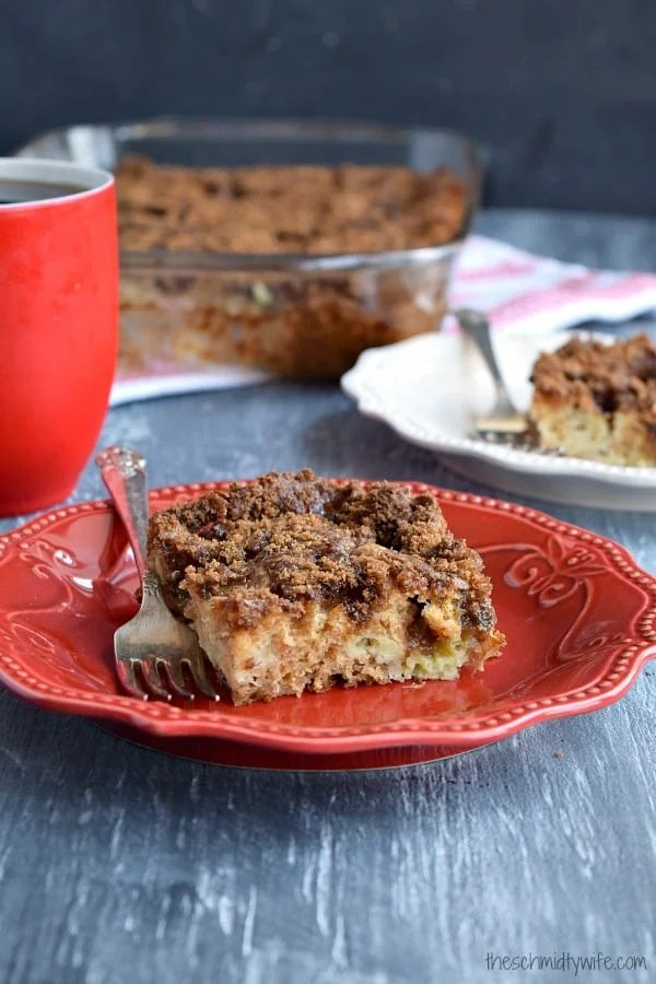 Coffee Cake Using Plain Yogurt