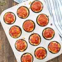 Turkey Veggie Meatloaf Muffins Recipe