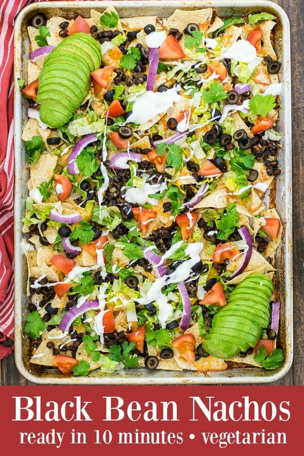 Black Bean Nachos Recipe