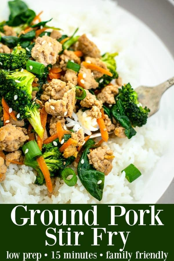 Ground Pork Stir Fry Recipe