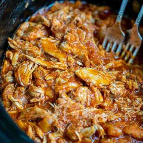 Healthy BBQ Pulled Chicken