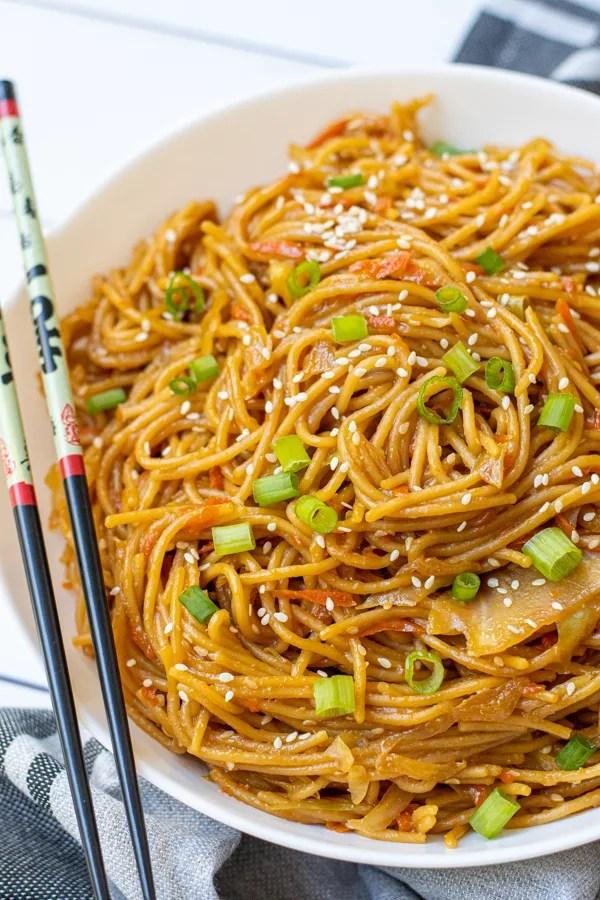 One-Pot Teriyaki Noodles Recipe