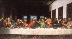 Leonardo da Vinci 1495–1498. The Last Supper.Santa Maria delle Grazie
