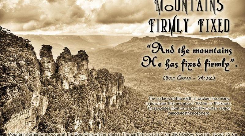 Mountains Firmly Fixed