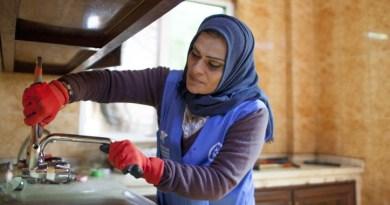 'Water Wise Women' Program Shatters Stereotypes as Female Plumbers Resolve Jordan's Water Scarcity