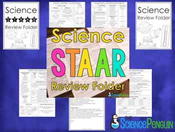 Science STAAR Review Folder