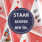 STAAR scores are in.