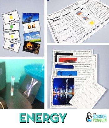Forms of Energy Science Stations Unit