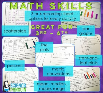 STEM Sports Math Skills