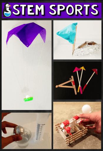 STEM Sports: archery, parachuting, basketball, diving, and sailing