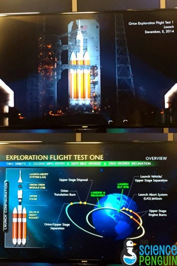 Orion Exploration Test Flight 1