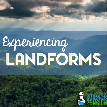 Experiencing Landforms: posters, fold-ups, and Google Earth project