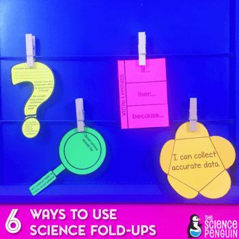 6 Ways to Use Science Fold-ups