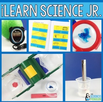 iLearn Science Jr. Unit-- safety, tools, and investigations!