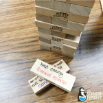 Science Vocabulary Ideas: Review Jenga