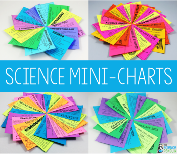 Science Mini-Charts on TpT