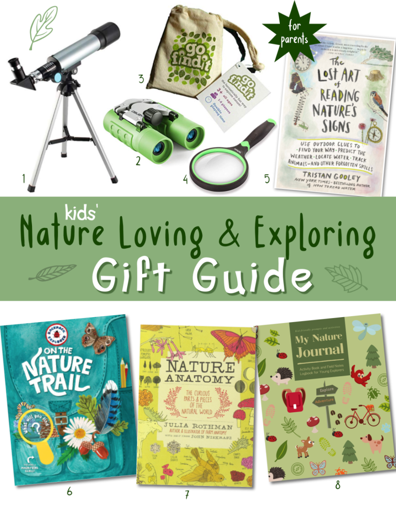 Essential books, journals and tools for kids who love nature to help them observe, explore and learn more. Great for nature walks and nature units.