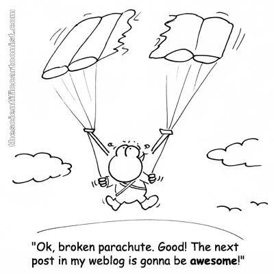 awesome parachute blogpost