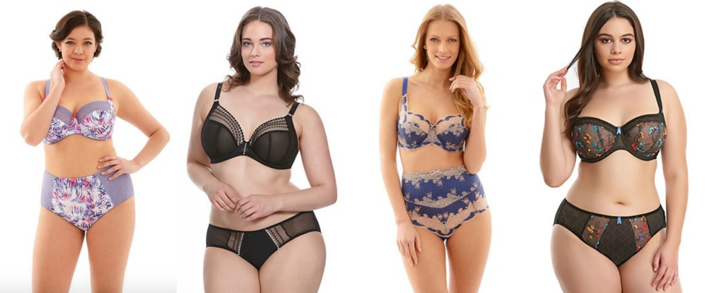 Several bra and panty sets