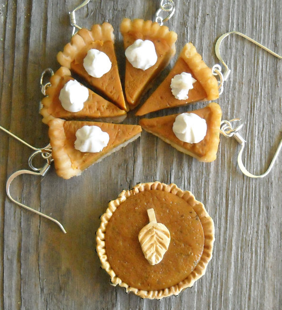 Pumpkin pie jewelry
