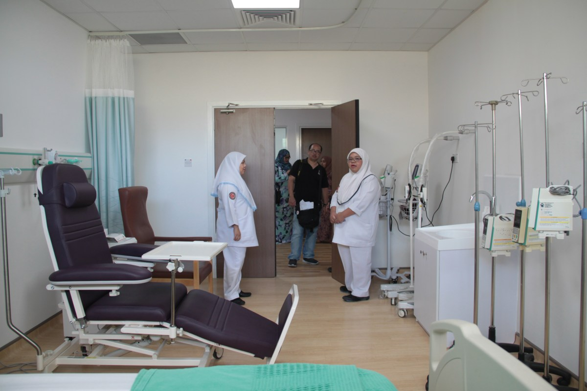 Shorter waiting time at RIPAS Hospital after completion of $1M renovation
