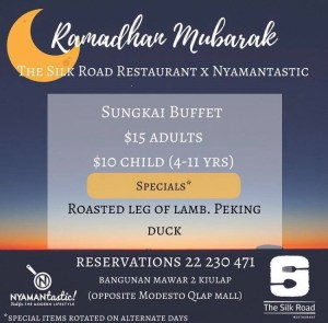 The Silk Road x Nyamantastic