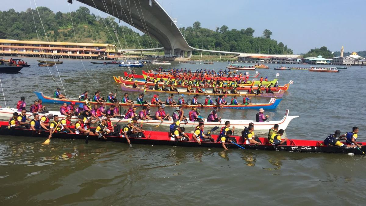 Brunei River comes alive for Regatta 2018