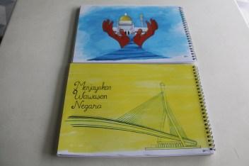 Artblocks featuring local artworks on the cover. Photo: Rafidah Hamit/The Scoop