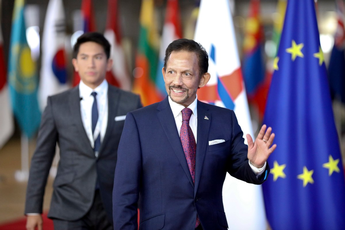 Sultan calls for EU, ASEAN to resume talks on free trade deal