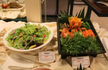 Salads available at the Singapore Food Festival, which will be held from Dec 1 to 16 at Horizon's Restaurant. Photo: The Scoop