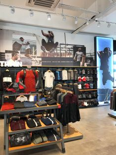 Under Armour Brunei opens at a new location at One Riverside this weekend. Photo: Courtesy of Under Armour Brunei