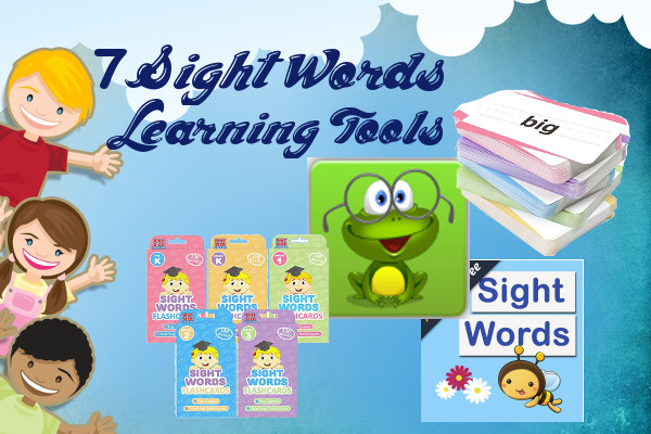7 Sight Words Learning Tools