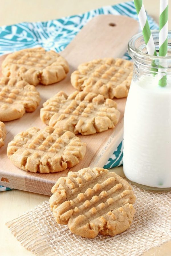 Old Fashioned Peanut Butter Christmas Cookies