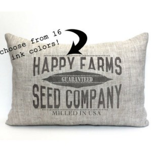 Grain Sack Pillow-The Scoop for Mommies