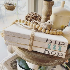 Easter Farmhouse Books-Stamped with Hip Hop