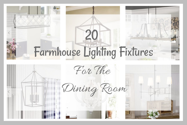 20 Farmhouse Lighting Fixtures Blog