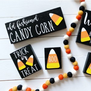 Halloween 3D Signs