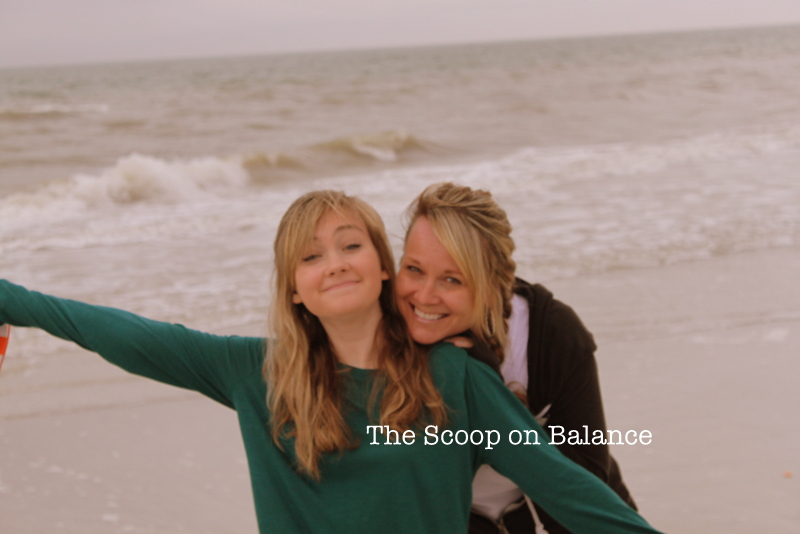 Bekah and Me on Beach